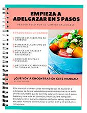 manual adelgazar en 5 pasos